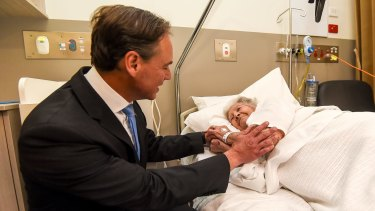 Health Minister Greg Hunt says there was strong demand to take part in the Health Care Homes trial.