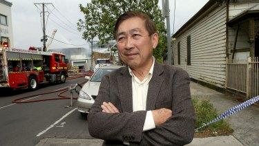 Co-owner of the premises, Loc Lam.