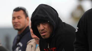 John Hopoate has been charged with assault