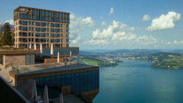 Burgenstock Resort nestles 500 metres above Lake Lucerne, where the scenery steals the show.