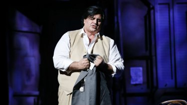 Rosario La Spina in Victorian Opera's <i>Laughter and Tears</i>.