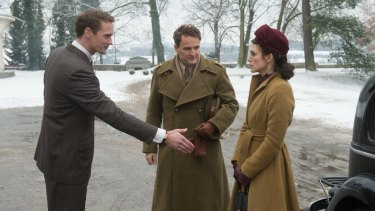 Bereaved British army officer Lewis Morgan (Jason Clarke) and his wife Rachael (Keira Knightley)  are billeted with architect Stephan Lubert (Alexander Skarsgard).