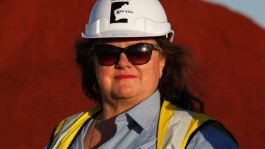 Gina Rinehart's wealth was estimated at $30 billion in 2012. Now, it has shrunk to approximately $11 billion.