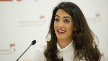 Amal Clooney, wife of actor George Clooney, is part of an international legal team seeking to release the former Maldivian president.