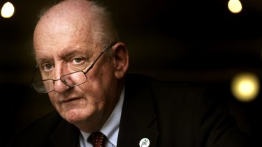 Former National Party of Australia leader and deputy prime minister, Tim Fischer.