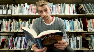 Josh Cawse has returned to study to improve his numeracy skills at Chisholm Institute of TAFE.