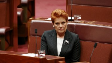 Senator Pauline Hanson announced in mid-August her party's four votes will be cast in favour of media reform.