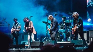 Powderfinger  played an impromptu reunion set at Splendour in the Grass.