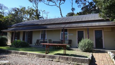 Constables Cottage at Watsons Bay.