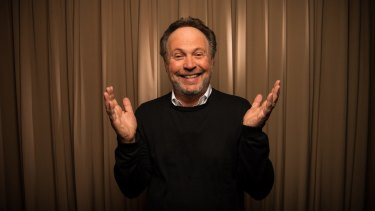 Comic master: Billy Crystal is about to embark on an Australian tour.