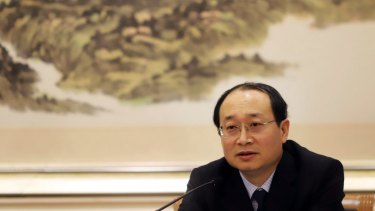 Little evidence China is the source: Yu Haibin of the China National Narcotics Control Commission.