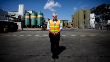 "GrainCorp CEO Mark Palmquist says the market has been ""subdued""."