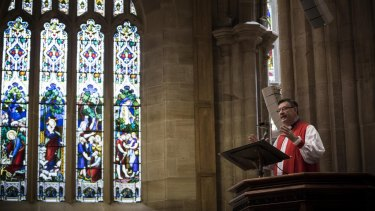 Anglican Archbishop Glenn Davies spoke out against same-sex marriage.