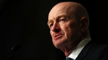 Used to angry letters from retirees: Former Reserve Bank governor Glenn Stevens.