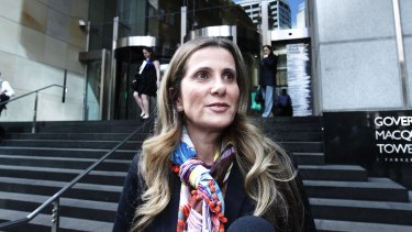 Kathy Jackson, former national secretary of the Health Services Union.