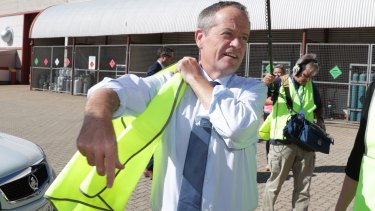 Opposition Leader Bill Shorten wants local government funding brought forward to stimulate jobs and investment.