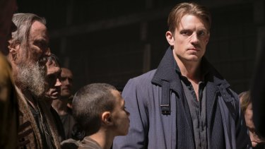 Not the man I used to be: Joel Kinnaman as Takeshi Kovacs in <i>Altered Carbon</i>.