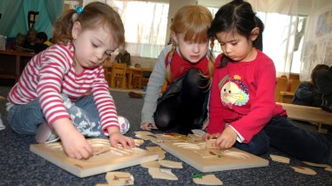 Quality childcare provides a positive early learning environment for young children.