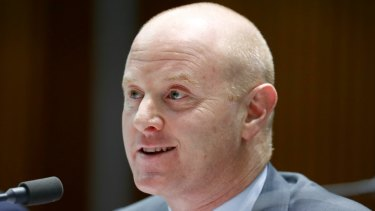 Commonwealth Bank chief executive Ian Narev did not signal any intent to step down on Monday.