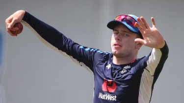 England spinner Mason Crane is set to make his Test debut in Sydney.