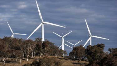Development of wind energy sputtered under the attacks by former prime minister Tony Abbott.