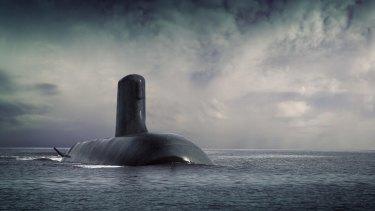 DCNS Shortfin Barracuda submarine.