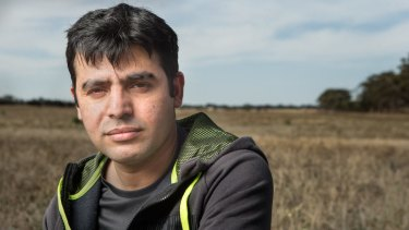 Sana Ullah says he was underpaid and exploited as a worker on a farm that supplied carrots to Woolworths.