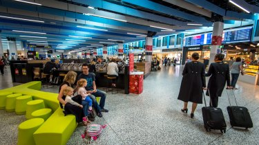 Ready for take-off: Hastings has also invested in Melbourne's Tullamarine Airport.