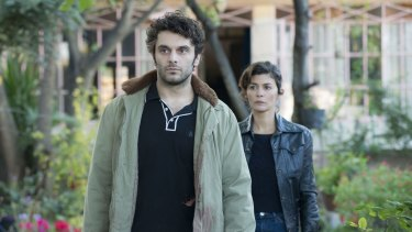 Pio Marmai and Audrey Tautou play husband and wife in The Trouble with You.