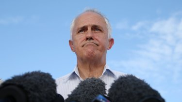 Prime Minister Malcolm Turnbull has changed tack.