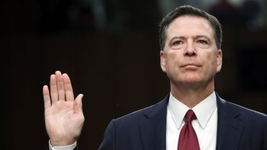 Sacked FBI director James Comey said Trump pressured him to drop an investigation into Michael Flynn.