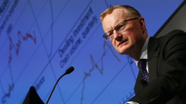 Philip Lowe, governor of the Reserve Bank of Australia.