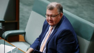 Liberal MP Craig Kelly supports a push to build a new coal fired power station.