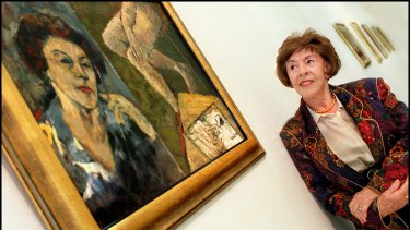 Judy Cassab and self portrait, 1996.