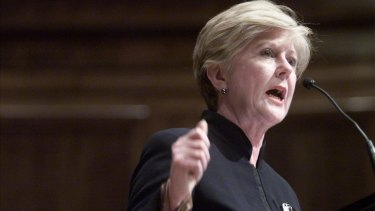 Former president of the Australian Human Rights Commission Gillian Triggs says we are heading down the path of <i>1984</i>.
