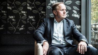 Vocus chief executive Geoff Horth has had to downgrade investors' expectations.