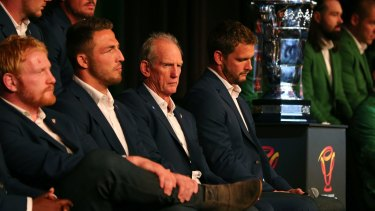 Wayne Bennett was not afraid to criticise his best player Sam Burgess during the Four Nations tournament.