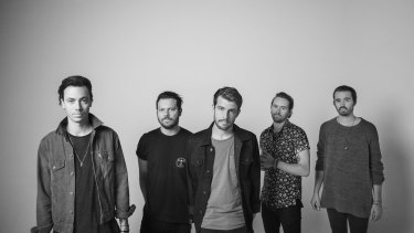 Hands Like Houses play at ANU Bar on October 18.
