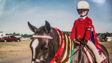 Olivia Inglis: all of her core childhood memories involved her family and her horses, says her mother, Charlotte.