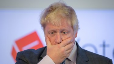 Boris Johnson on the Brexit.