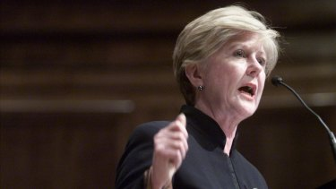 Australian Human Rights Commission president Gillian Triggs.