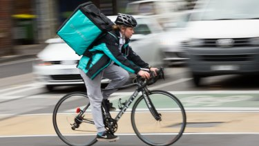 Deliveroo is an end-to-end food delivery service.