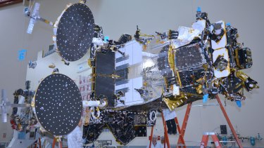NBN's Sky Muster satellite, now in orbit.