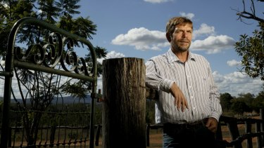 Graham Turner at Grandchester, where his family foundation is spending $18.5 million on a conservation centre.