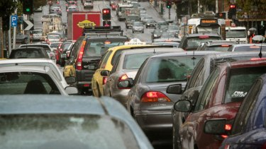 The road closure caused congestion across the city.