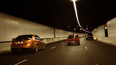 Lane Cove Tunnel.