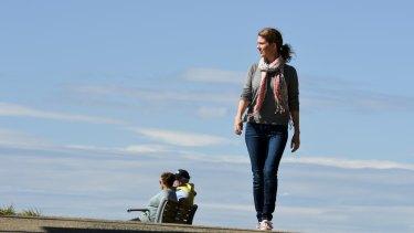 Tara Wells spent her honeymoon walking in Sydney.
