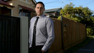 Brisbane man Andrew Edwards was hit with a bad credit rating after his income protection insurance delayed pay out but he eventually got it cleared.