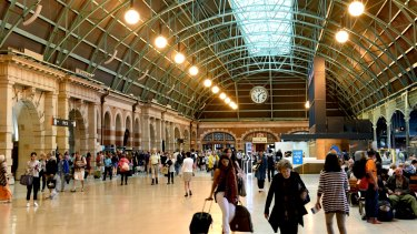 Many passengers view Sydney's Central Station as old and rundown.