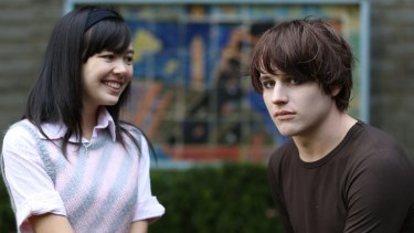 Harry Borland stars as emo boy Ethan and Charlotte Nicdao as Christian girl Trinity in <i>Emo the Musical</i>. The 2013 short film is being developed as a feature by writer-director Neil Triffett and producer Lee Matthews.